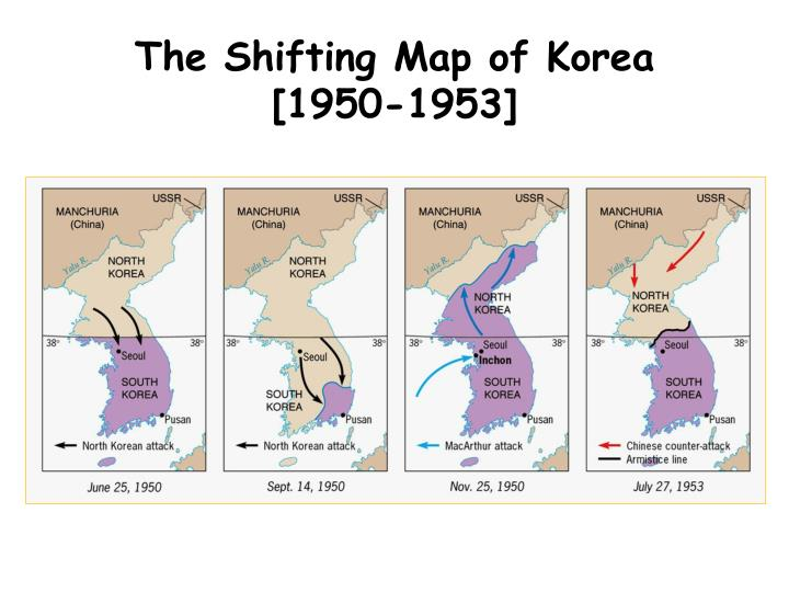 The Shifting Map of Korea