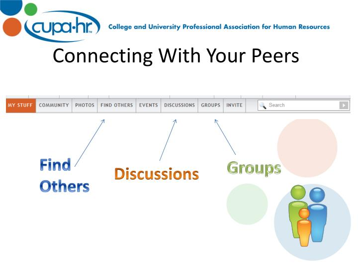 Connecting With Your Peers