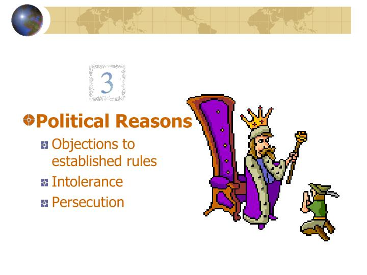 Political Reasons