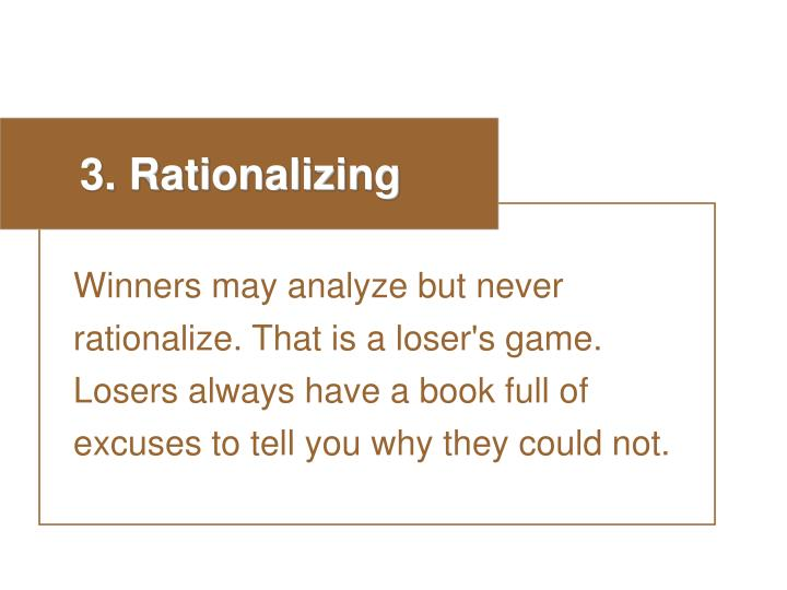 3. Rationalizing