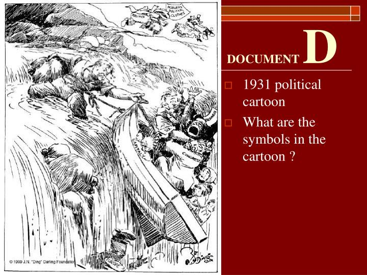 1931 political cartoon