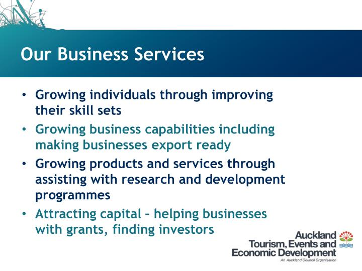 Our Business Services