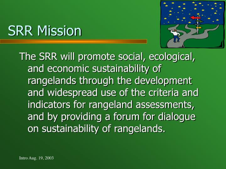 SRR Mission