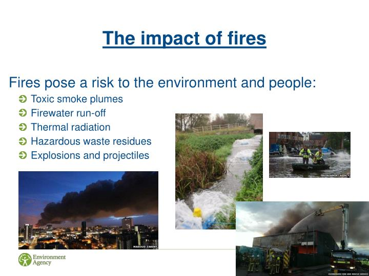 The impact of fires