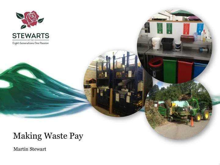Making waste pay