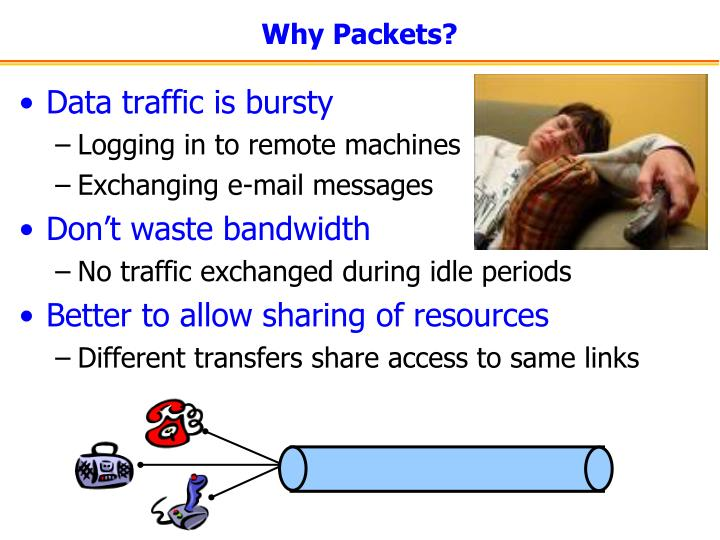 Why Packets?
