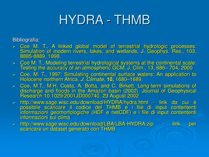 HYDRA - THMB