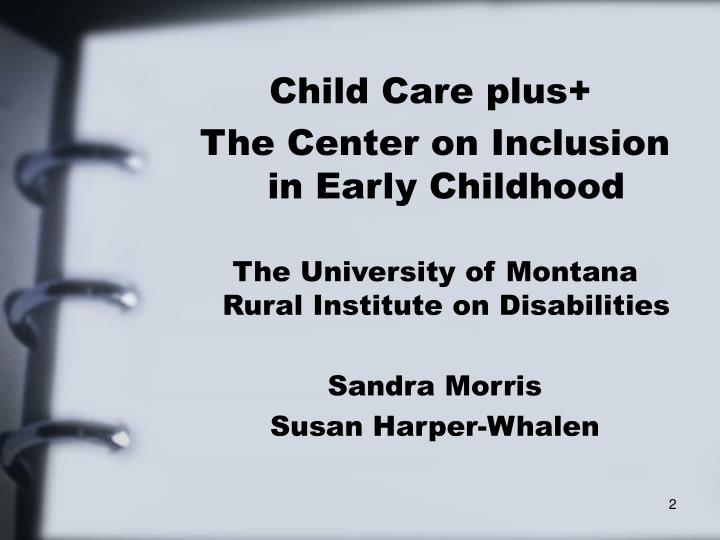 Child Care plus+