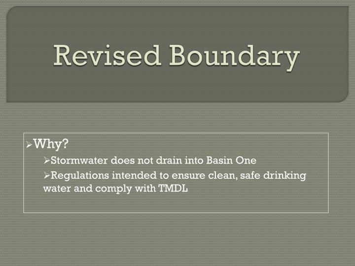 Revised Boundary