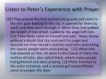 listen to peter s experience with prayer2
