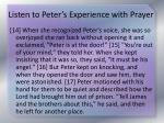 listen to peter s experience with prayer3