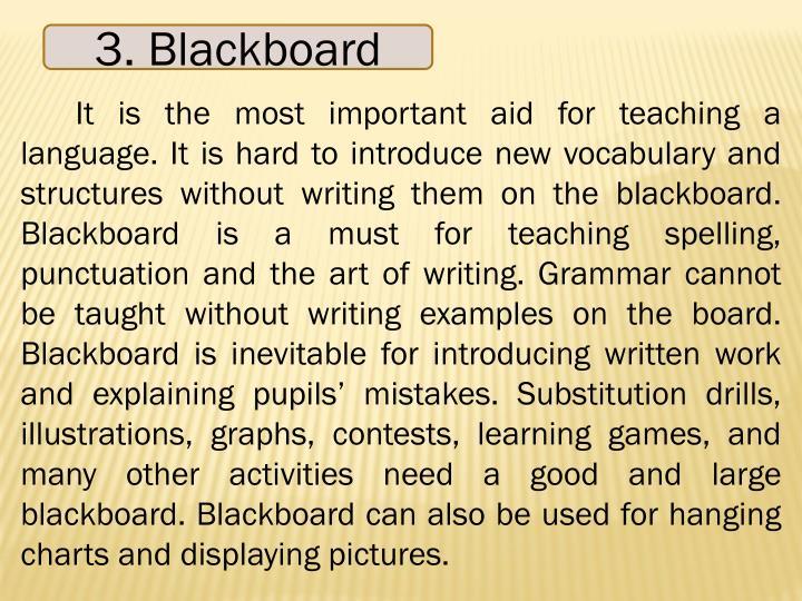 3. Blackboard