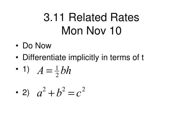 3 11 related rates mon nov 10