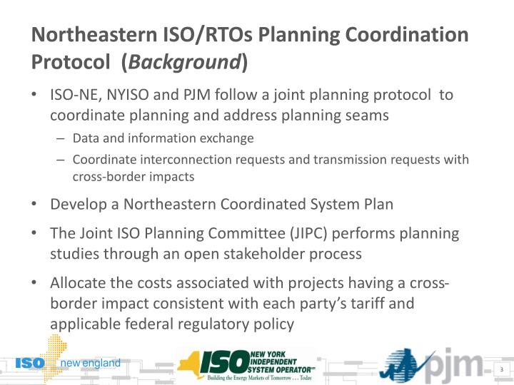 Northeastern iso rtos planning coordination protocol background