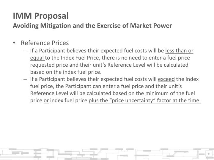 IMM Proposal