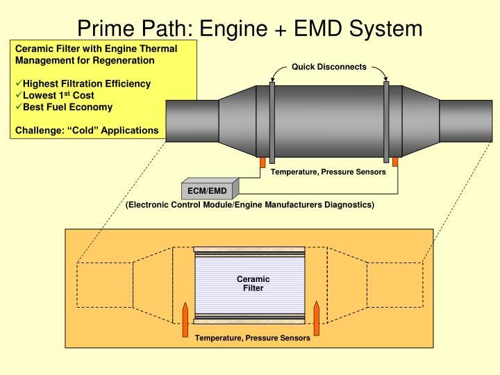 Prime Path: Engine + EMD System