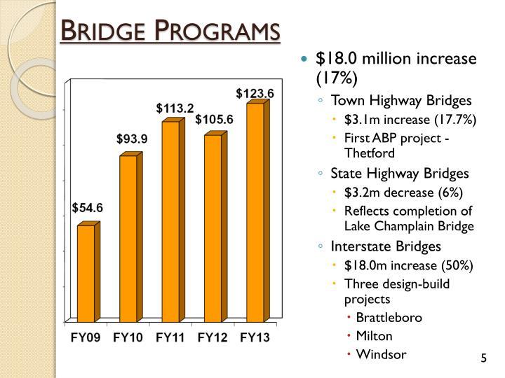 Bridge Programs
