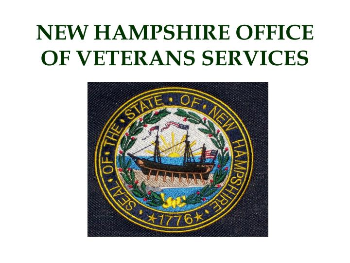 New hampshire office of veterans services