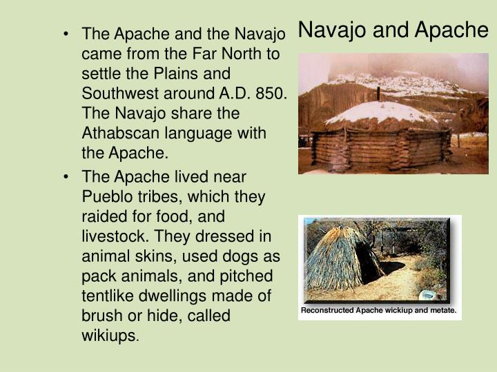 Navajo and Apache