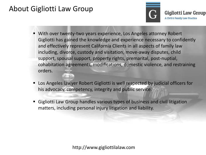 About Gigliotti Law Group