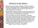actions to be done2