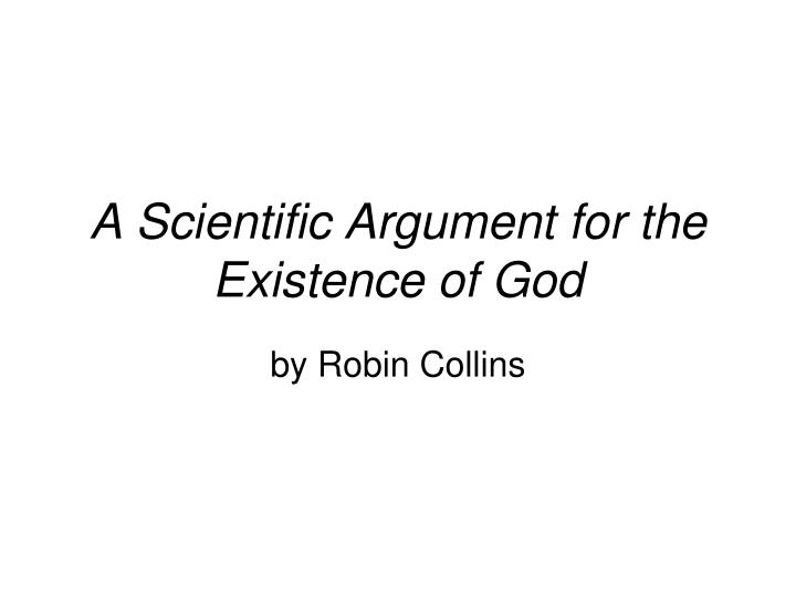 an overview of the article god design and fine tuning by robin collins