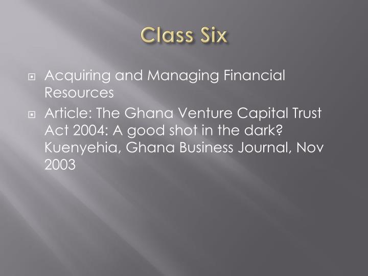 Class Six
