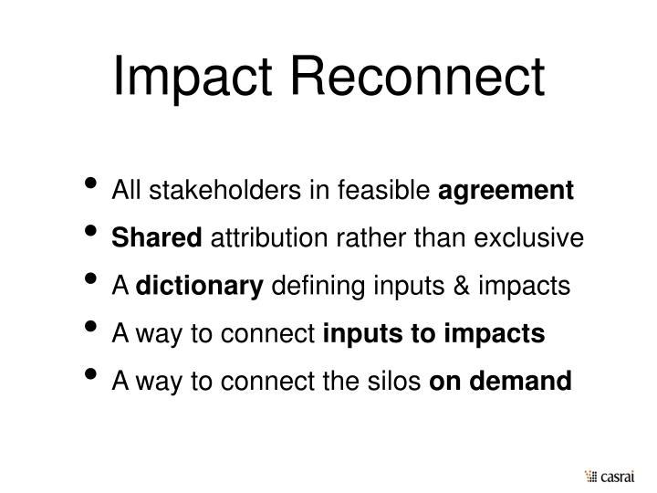 Impact Reconnect
