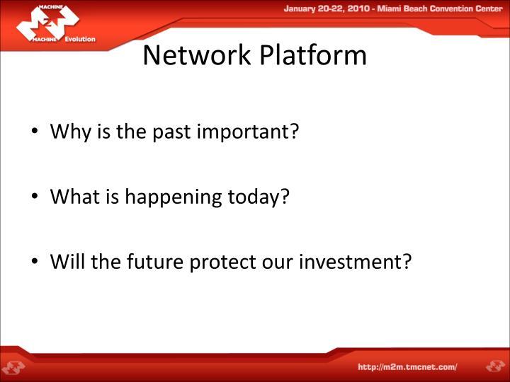 Network Platform
