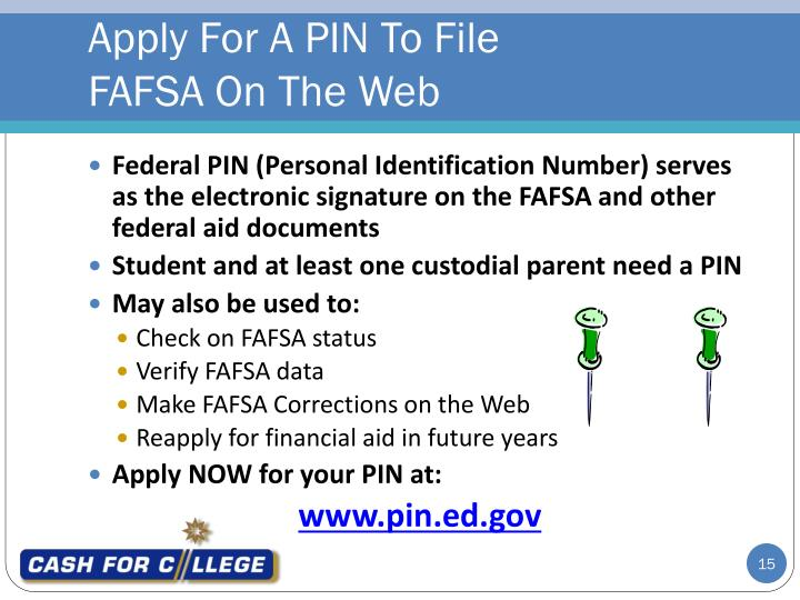 Apply For A PIN To File
