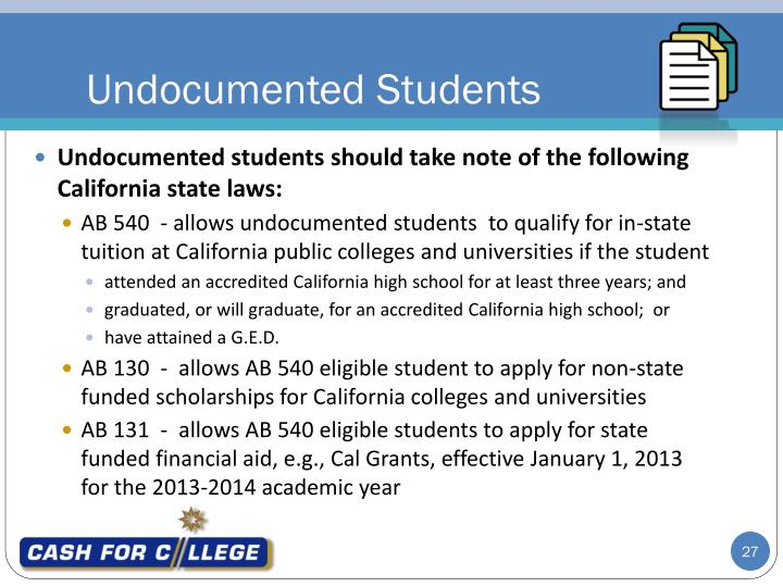 Undocumented Students