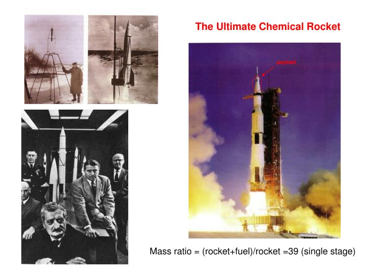 The Ultimate Chemical Rocket