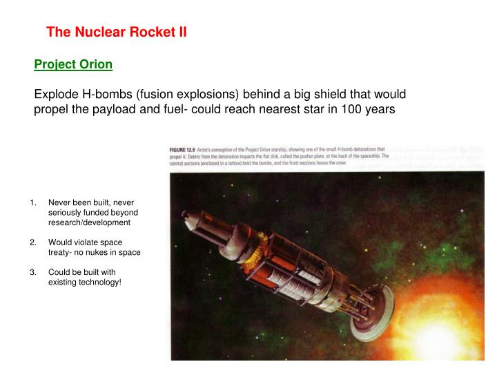 The Nuclear Rocket II