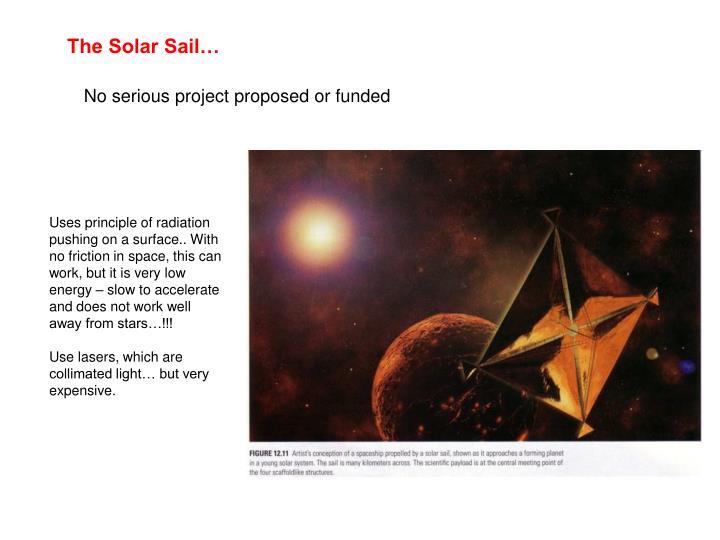The Solar Sail…