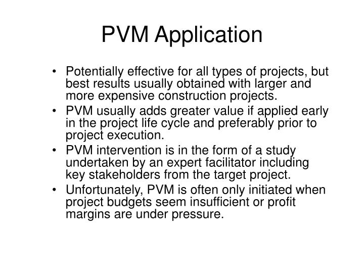 PVM Application
