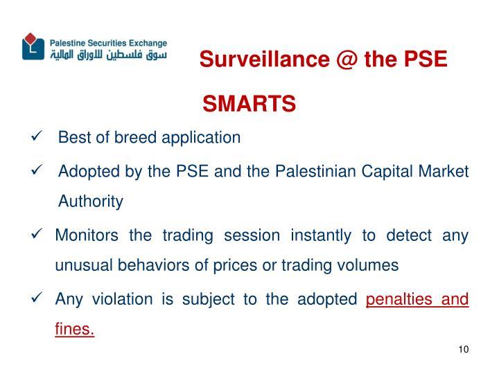 Surveillance @ the PSE