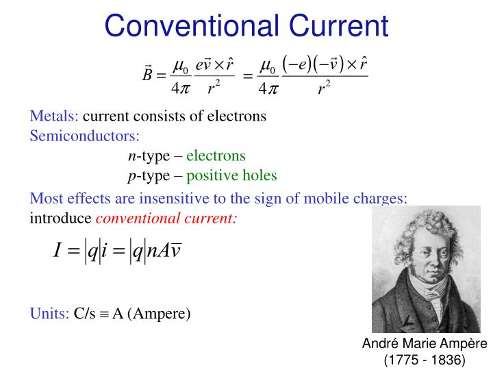 Conventional Current