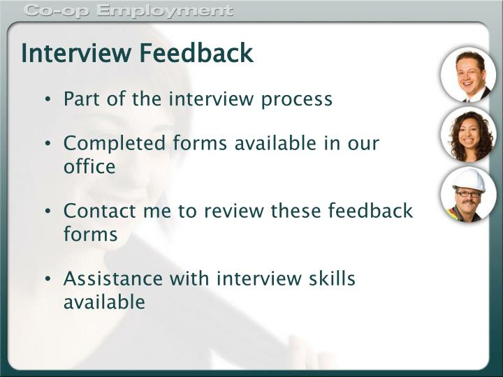 Interview Feedback