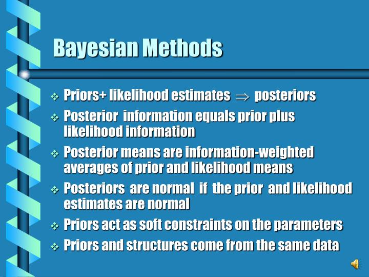 Bayesian methods