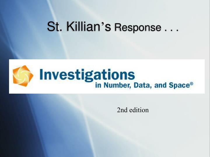 St. Killian