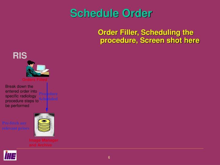 Procedure Scheduled