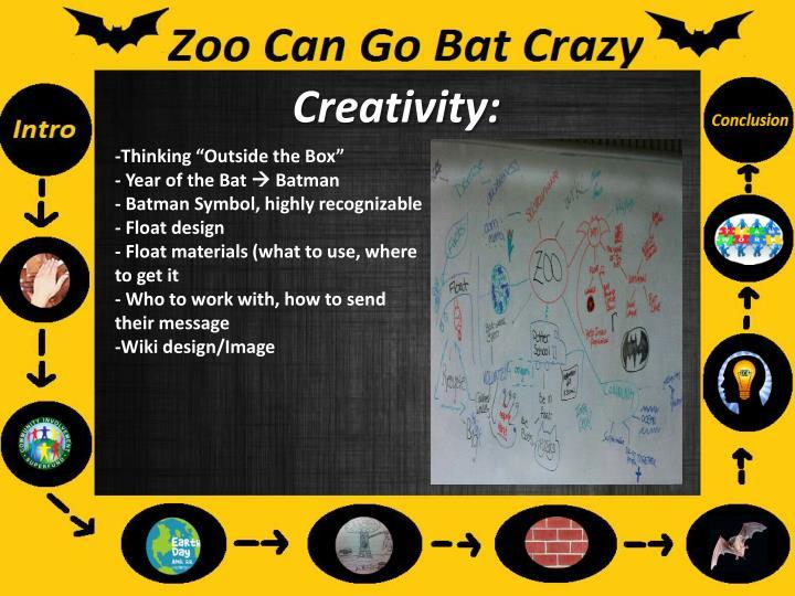 Creativity: