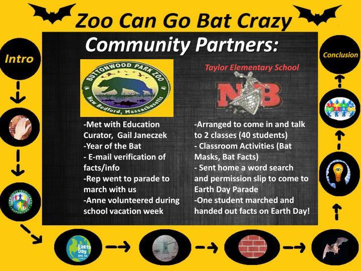 Community Partners: