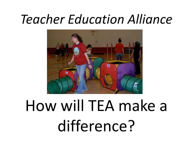 Teacher Education Alliance