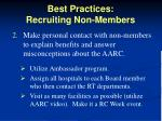 best practices recruiting non members1