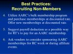 best practices recruiting non members2