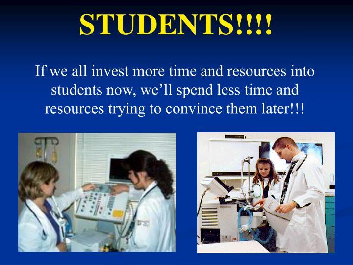 STUDENTS!!!!