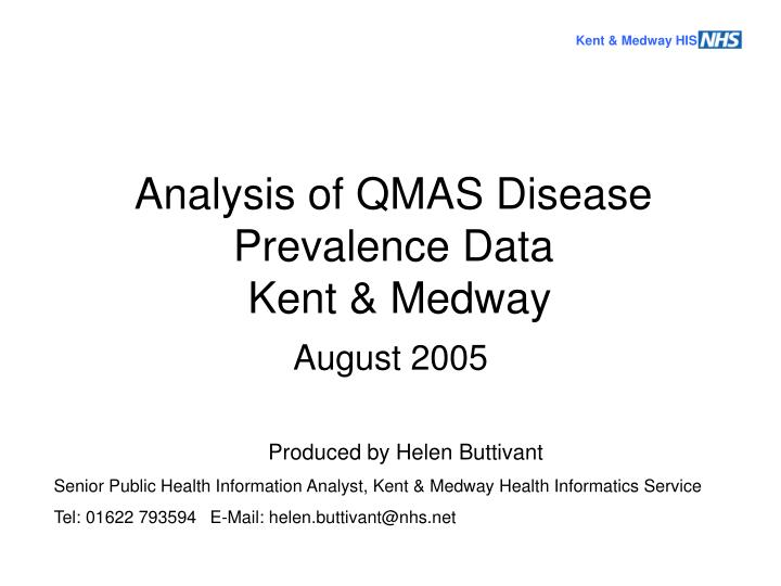 Kent & Medway HIS