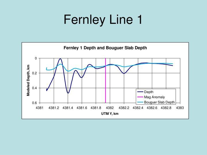 Fernley Line 1