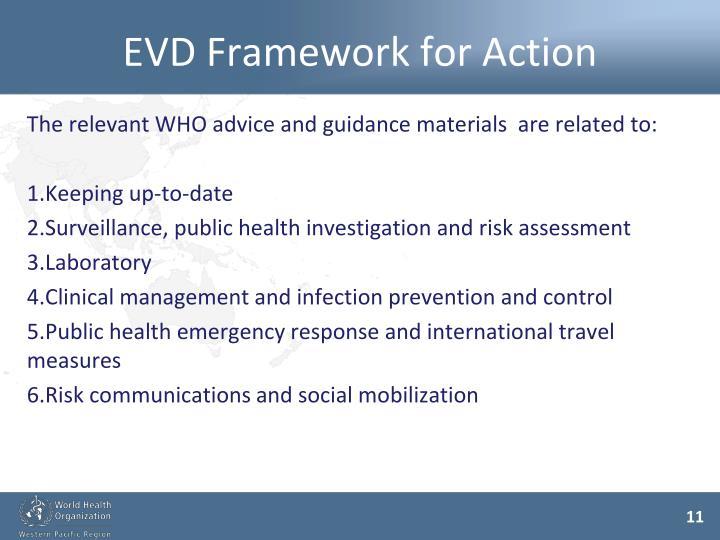 EVD Framework for Action